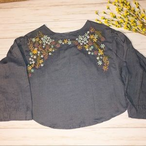 Lucky Brand peasant top!